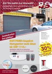 PDF Garagentore und Haustüren - BS BauSys AG