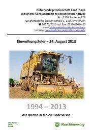 Downloadlink: Festschrift zur mit Darstellung der Geschichte hier