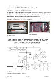 Dokumentation über D-Netz 7-Kreis-Hochpass-Filter - ÖVSV