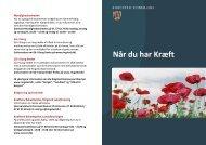 Pjece: Når du har kræft - Sundhed.dk