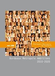 Bordeaux Metropole Ambitions 2010-2020 - Cub