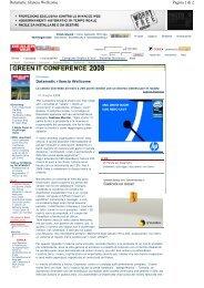 Pagina 1 di 2 Datamatic rilancia Wellcome