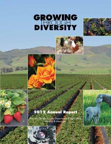 2012 Crop Report - County of San Luis Obispo