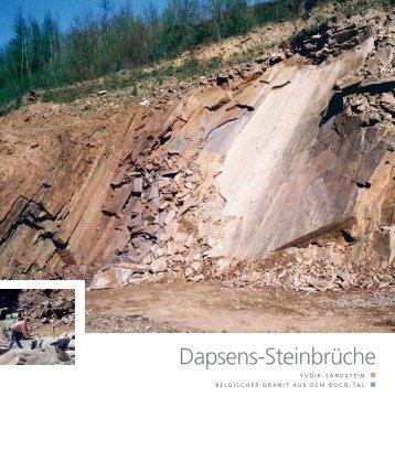 Dapsens-Steinbrüche - Pierres & Marbres de Wallonie