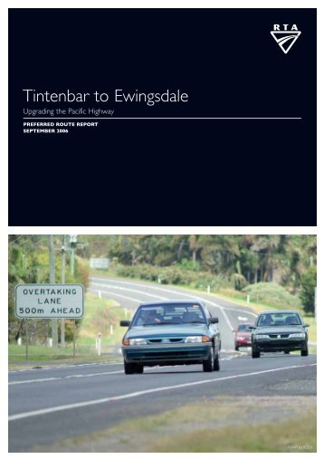 Tintenbar to Ewingsdale - RTA - NSW Government