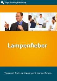 Lampenfieber - WeiterbildungsProfis