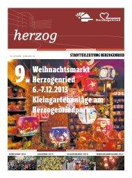 Weihnachtsmarkt Herzogenried 6.-7.12.2013 ... - Stadt Mannheim