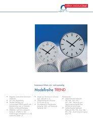 Innenraumuhr TREND - Bürk Mobatime GmbH