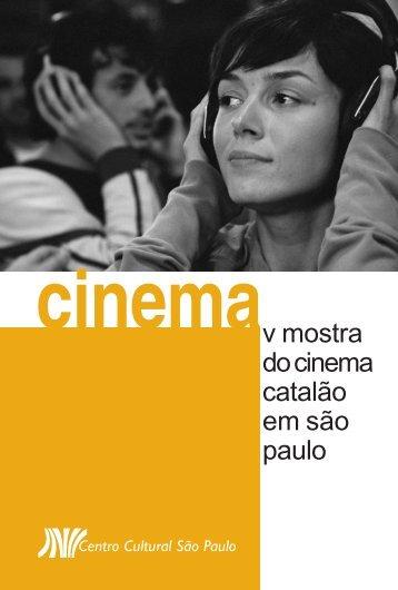 O cinema na Catalunha - Centro Cultural São Paulo