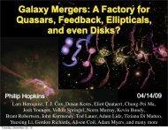 Galaxy Mergers: A Factory for Quasars, Feedback, Ellipticals ... - Tapir