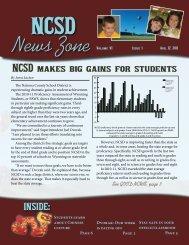 August 2011 News Zone - Natrona County Schools