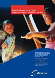 Mainova-Wasserkoffer - Umweltforum Rhein-Main