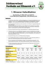 1. Winsener HallenBiathlon