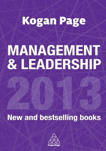 MANAGEMENT & LEADERSHIP - Kogan Page