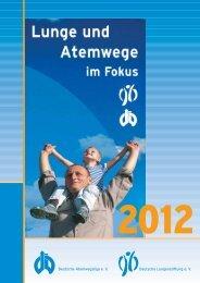 Deutsche Atemwegsliga e. V. Deutsche Lungenstiftung e. V.