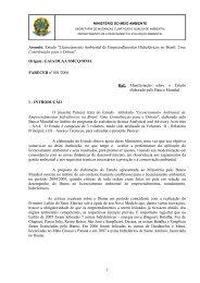 ministério do meio ambiente, dos recursos hídricos e da ... - ABCE