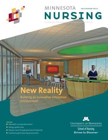 Minnesota Nursing Magazine (PDF) - School of Nursing - University ...