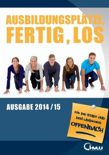 Ausbildungsplätze, Fertig, Los - Stadt und Landkreis Offenbach