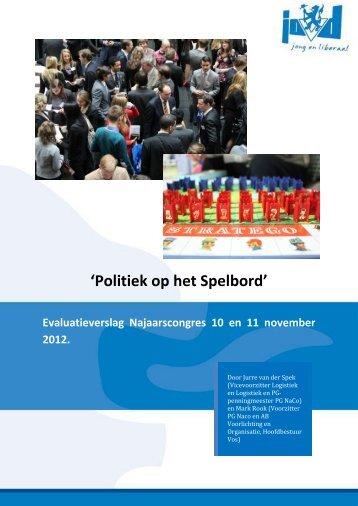 'Politiek op het Spelbord' - Bandwerkplus.nl