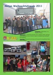 Aktion Weihnachtsfreude 2011