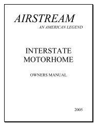 INTERSTATE MOTORHOME - Airstream