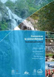 Comunicar la sostenibilidad, guía para periodistas - Unesco Etxea