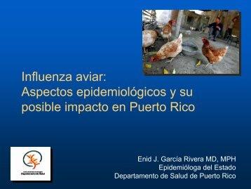 Aspectos epidemiologicos de influenza - Departamento de Salud