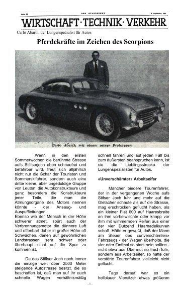 Pferdekräfte im Zeichen des Scorpions.pdf - Abarth-e-Co