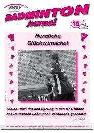 10/2010 - Baden - Württembergischer  Badminton - Verband