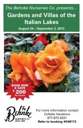 Gardens & Villas Flyer - Behnke Nurseries