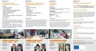 3. Strategische Vorgehensweisen & 4. Kommunikation und Prüfung ...