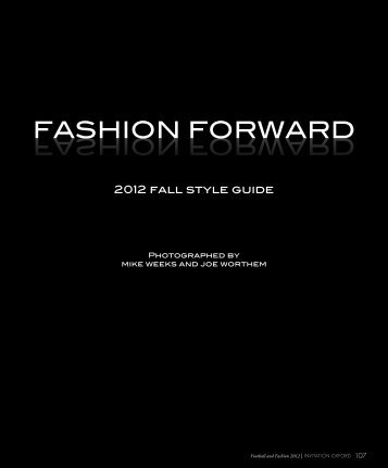 FASHION FORWARD - Invitation Oxford