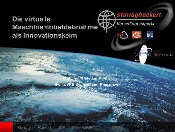 Die Virtuelle Maschineninbetriebnahme als ... - WinMOD