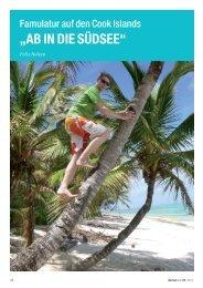 Famulatur auf den Cook Islands - zahniportal.de