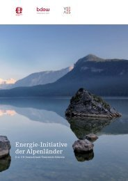 Energie-Initiative der Alpenländer - VSE