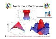 Noch mehr Funktionen - Leuphana Universität Lüneburg