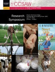 Research Symposium - University of Guelph