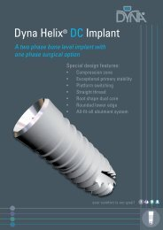 Dyna Helix® DC Implant - Dyna Dental
