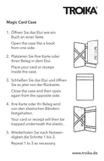 Funktionsbeschreibung (PDF-Download) - Troika Germany GmbH