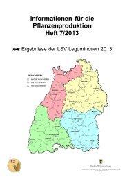 IfPP Heft 7-2013 Leguminosen