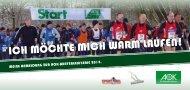 ICH MÖCHTE MICH WARM LAUFEN! - Sport-Ziel