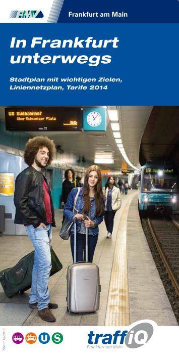In Frankfurt unterwegs 2014 - Broschüre (PDF, 2.0 MB) - traffiQ