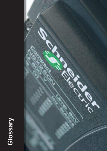 G. Glossary - Schneider Electric