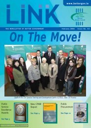 Link Magazine Issue 43 – February 2006 - Department of Public ...
