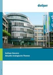 Gothaer Konzern Aktuelle strategische Themen