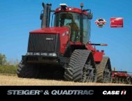 321 hectares ploughed in 24 hours STX STEIGER - NEZ AGRO sro
