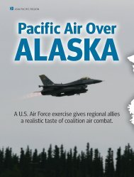 A U.S. Air Force exercise gives regional allies a realistic taste of ...
