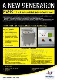 HVA90 Data sheet 2.indd - Tech-Rentals