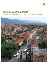 Point-to-Multipoint 320 Wireless Broadband and ... - Day Wireless