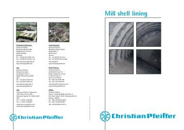 Mill shell lining Safe and simple: Ball mills - Christian Pfeiffer
